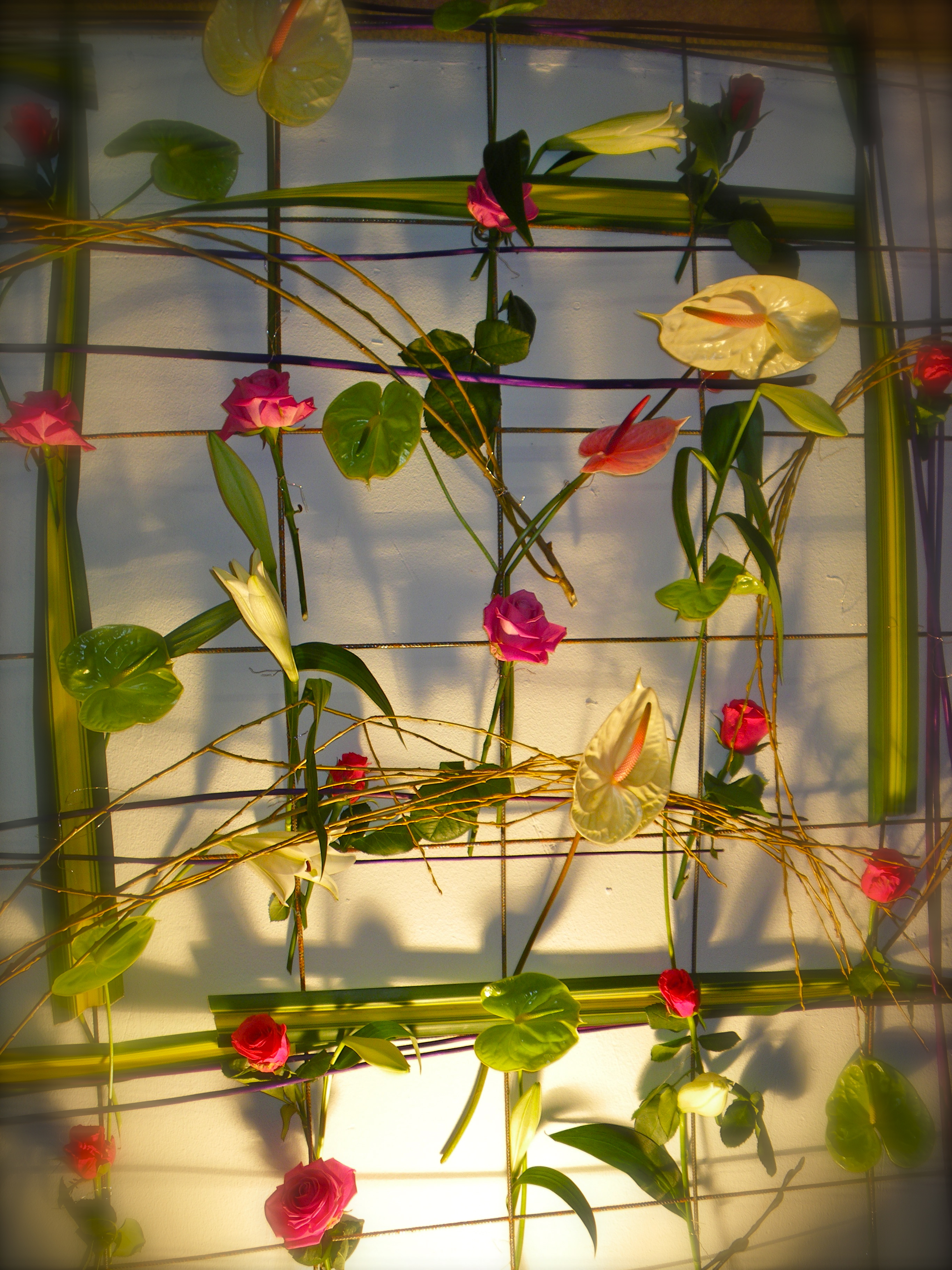 maylis boniface d coration florale forum du mariage et de la r ception 2010 albi. Black Bedroom Furniture Sets. Home Design Ideas